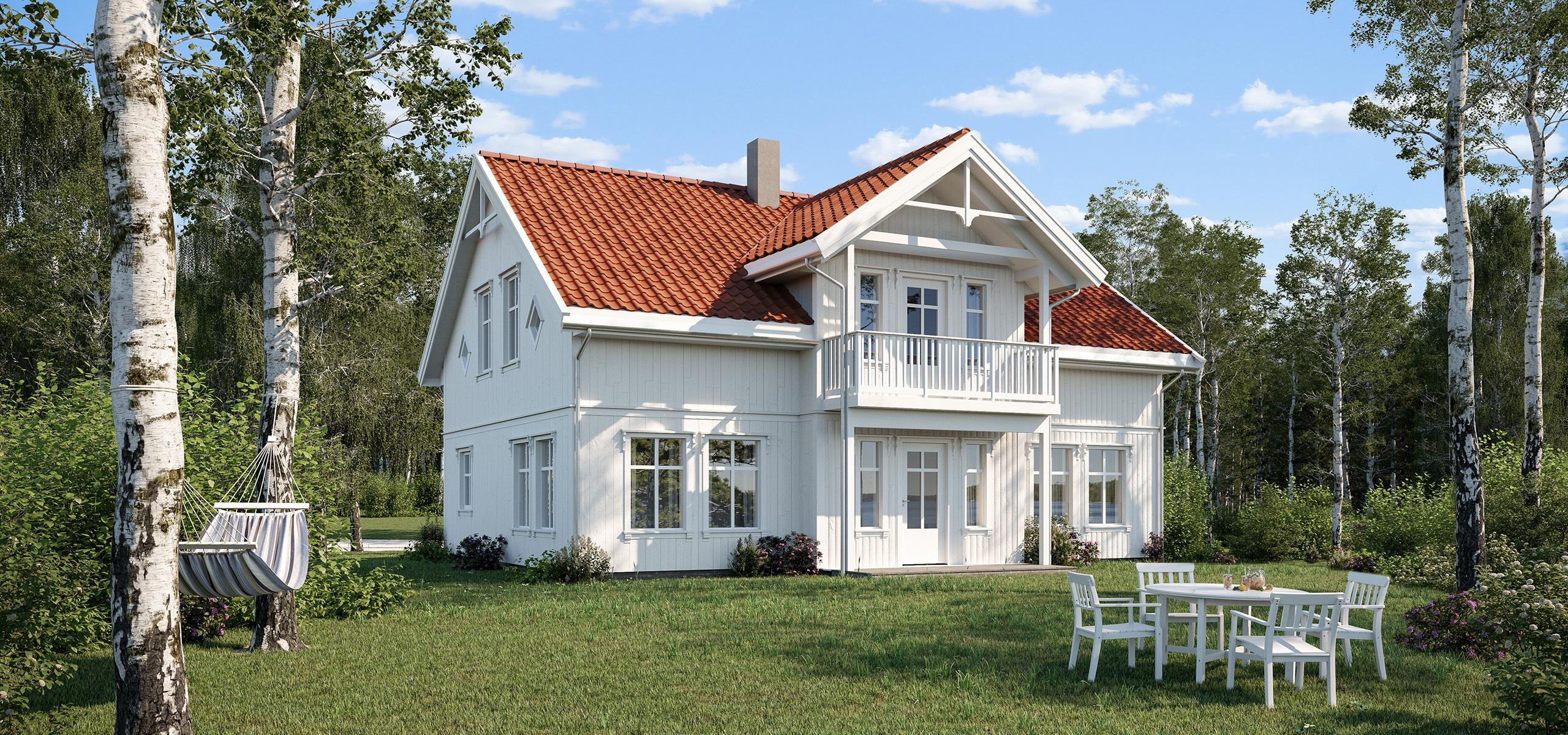 Bilde av Eplehage, en flott klassisk bolig