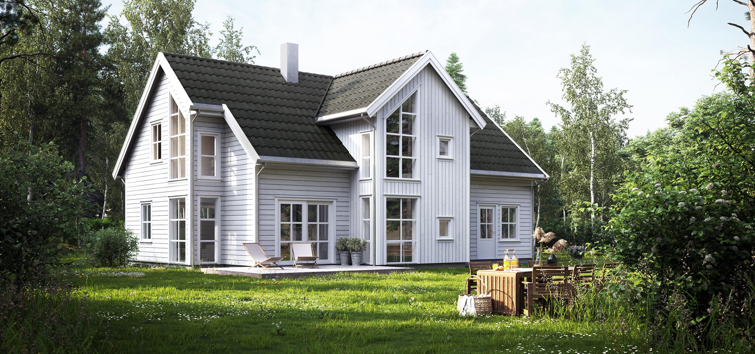 Bilde av ferdighusmodellen Helgero