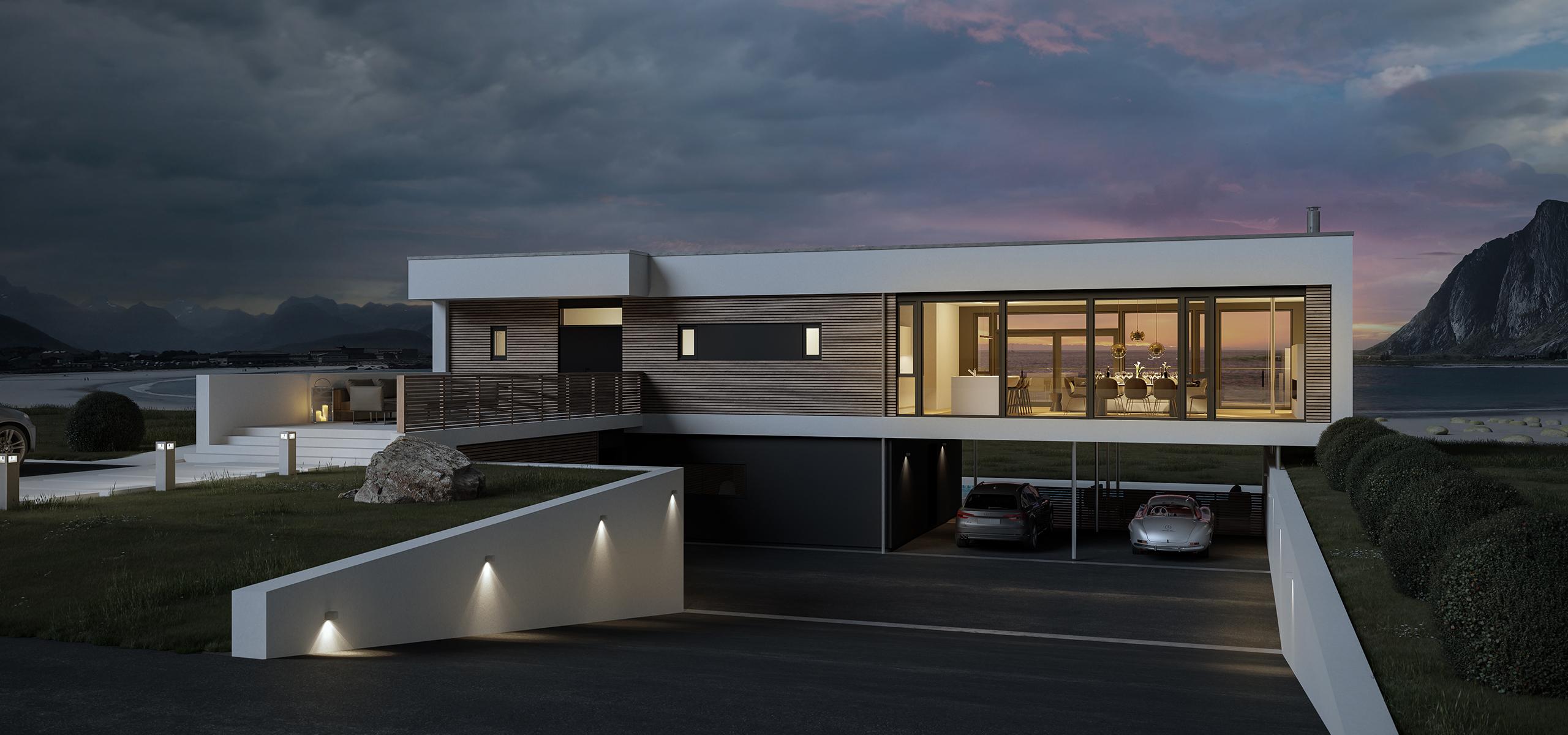Bilde av ferdighusmodellen Panorama